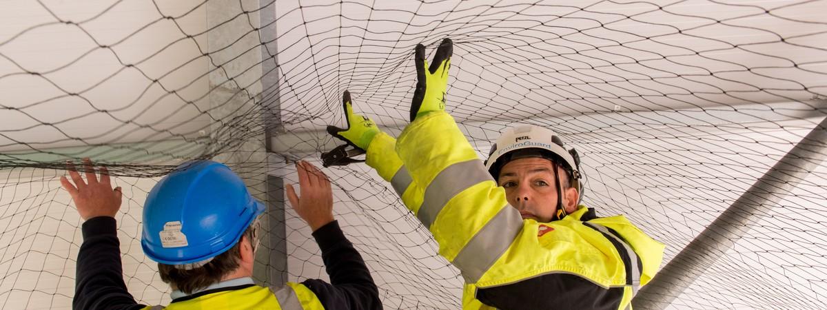 Anti Pigeon Netting  sc 1 st  Enviroguard Bird Control - UK.COM & Bird Netting Manchester | Netting Specialists - EnviroGuard
