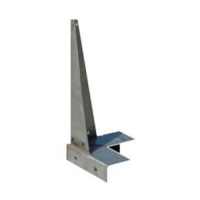 Dormer Roof Corner Bracket 360mm Stainless Steel