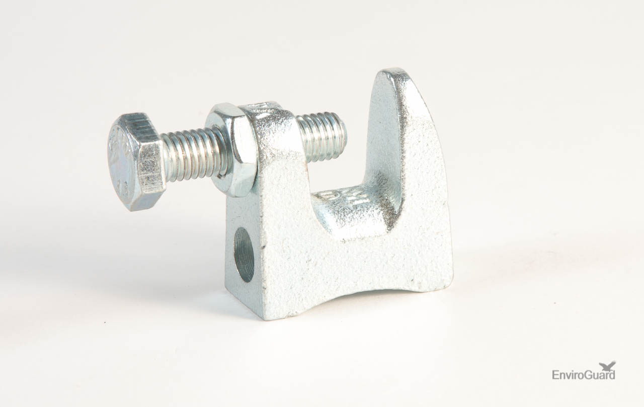 Beam Clamp 20mm Structural Steel Corner Fixing Enviroguard